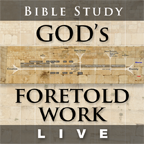 God's Fortold Work Poster